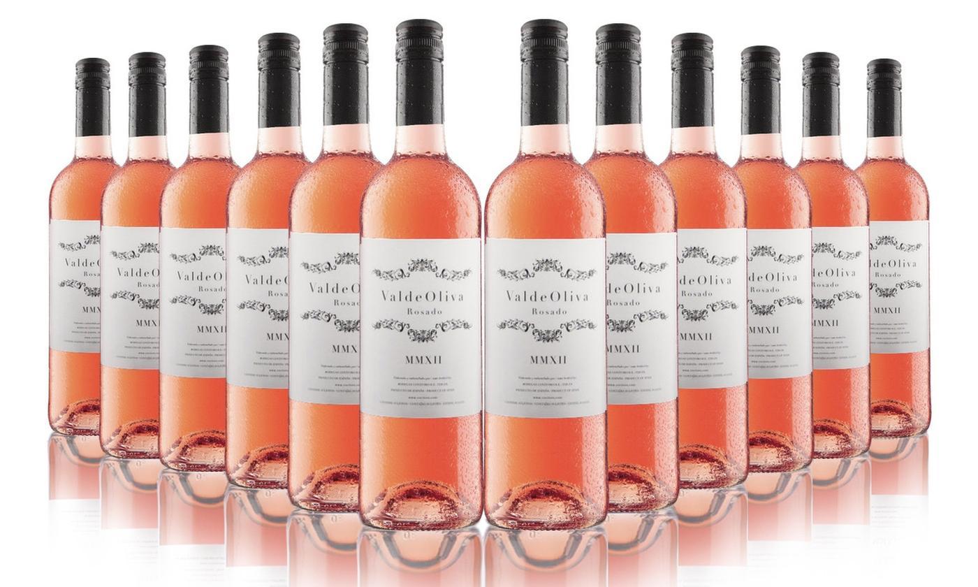 12 bottles of Spanish Rosé Wine