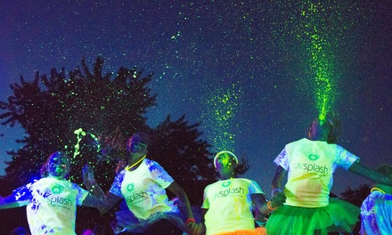 Entry for One, Two, or Four at UV Splash Color Dash 5K on Saturday, June 7 (Up to 45% Off)