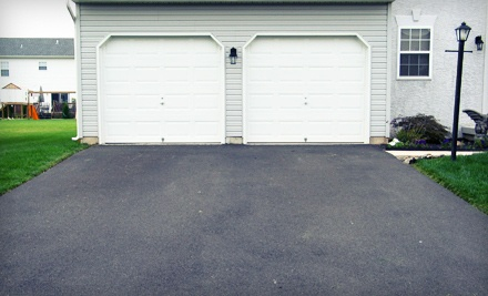 Seal Coating on a One-Car Driveway, Up to 600 Square Feet (a $149 value) - Southwest Striping in