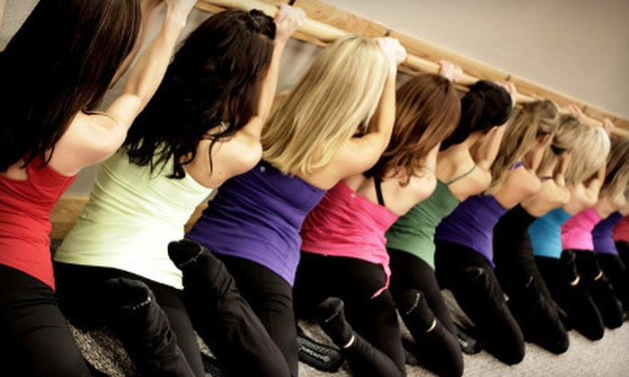 Pure Barre - Multiple Locations: Four or Eight Fitness Classes at Pure Barre (Up to 56% Off)