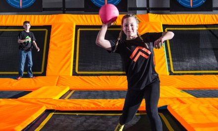 Jump Passes, Party, or Cosmic Night Jump at Big Air Trampoline Park - Laguna Hills (Up to 48% Off).