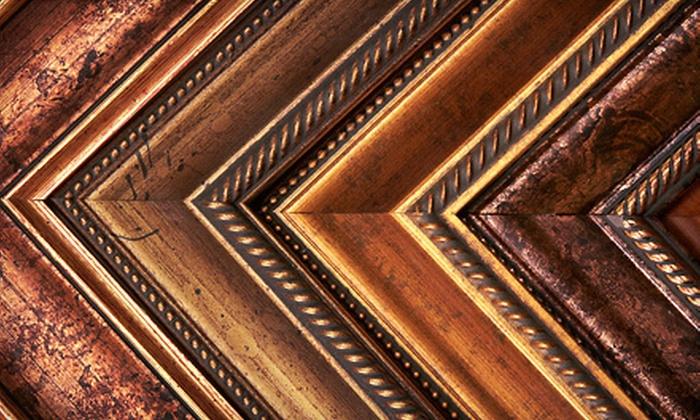 Frame Up - Charleston: $45 for $100 Worth of Custom Framing at Frame Up