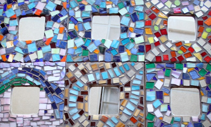 VisArts at Rockville - Central Rockville: $29 for a Take and Grout Mosaic Mirror Workshop at VisArts at Rockville ($60 Value)