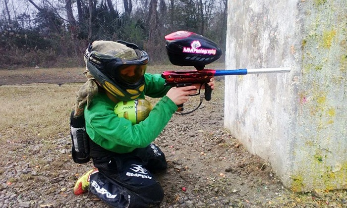 Mount Pleasant Paintball - Wando: Zombie Shootout for Two, Four, Six, or Eight at Mount Pleasant Paintball (Up to 75% Off)