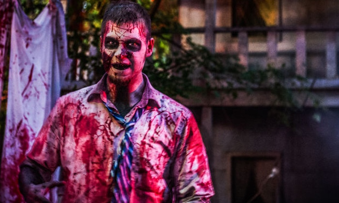 Reapers Realm Haunted Attractions - Hammond: $30 for a Visit for Two Plus One Carnival Ride at Reapers Realm Haunted Attractions ($60 Value)