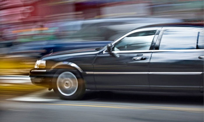 Robinson Transportation Group - Conyers: One-Way or Round-Trip Town Car or Sedan Transportation to Airport from Robinson Transportation Group (Up to 63% Off)