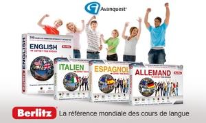 Berlitz: Apprendre l'anglais, l'italien, l'espagnol, l'allemand avec les logiciels Berlitz dès 29,99 € (jusqu'à 83% de réduction)