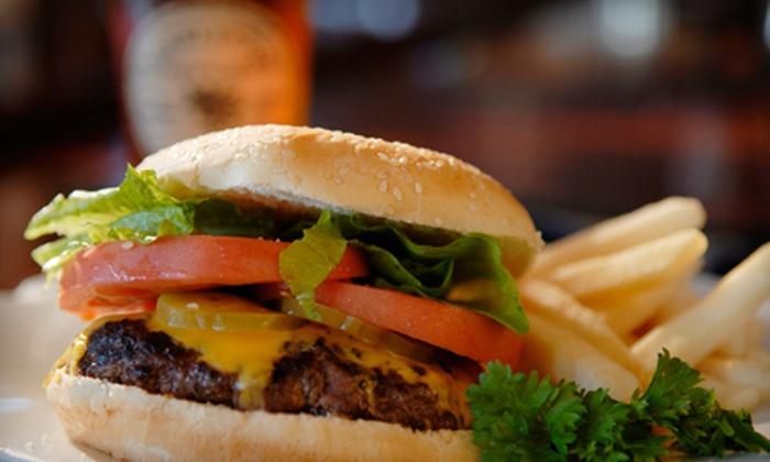Fox Den 3D Bar & Grill - South Acres: Pub Fare for Two, Four, or Six at Fox Den 3D Bar & Grill in Pearland (Half Off)
