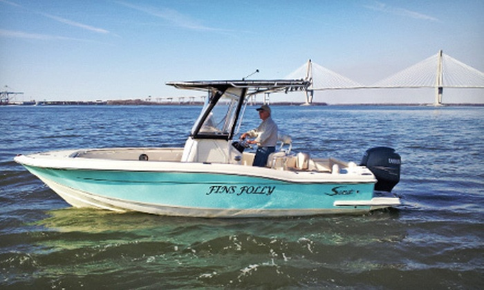 Captain Dan's Water Tours - Mt. Pleasant: $149 for a 90-Minute Boat Tour for Up to Six from Captain Dan's Water Tours (Up to $300 Value)