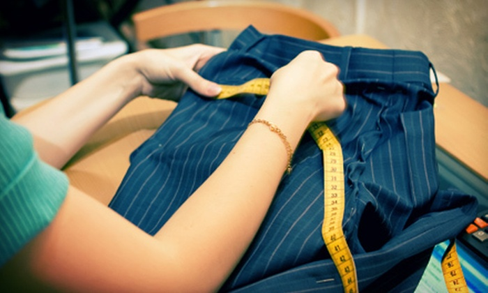 Alterations Unlimited - Second Ward: Clothing Alterations at Alterations Unlimited (Up to 59% Off). Three Options Available.