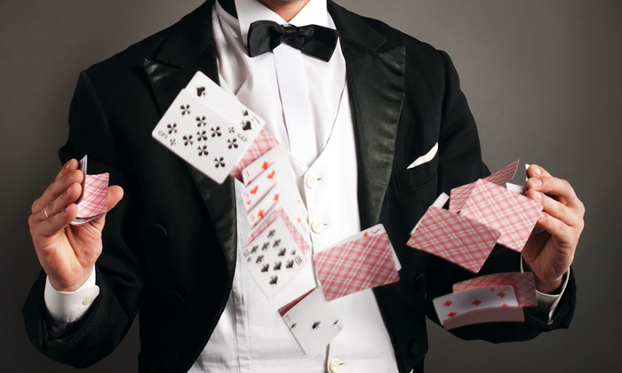 Illusions Bar and Theater - Illusions Bar and Theater: Comedy Magic Show for Two, Four, Six, or Eight at Illusions Bar and Theater (Half Off)