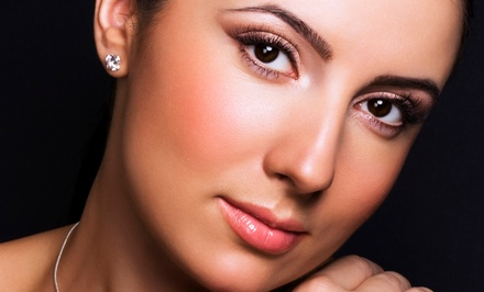 Permanent Makeup for the Eyebrows, Lower Eyelids, or Lips (Up to 67% Off)