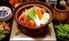 新宿御苑/チケ鍋・寄せ鍋から選べる鍋などコース10品+飲み放題120分