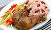 De Palm Tree Restaurant - University City: Jamaican Dinner or Lunch at De Palm Tree Restaurant (Up to 52% Off)
