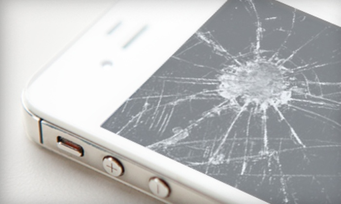 MobileComm - Mobile Comm: iPhone Repair Services and Merchandise at MobileComm (Up to 55% Off). Four Options Available.