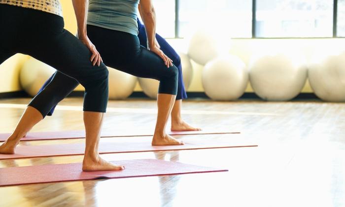 New Flower Yoga - Seward Park: $58 for $130 Groupon — New Flower Yoga