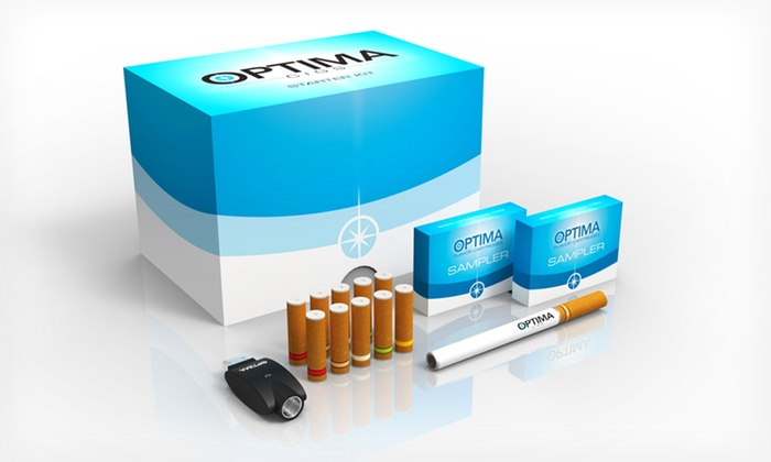 Optima E-Cigarette Starter Kit: $19.99 for an Optima E-Cigarette Starter Kit with 10 Flavored Cartridges ($79.99 List Price). Free Shipping.