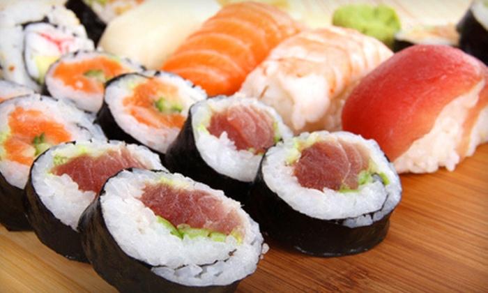Nhinja Sushi and Wok - Edmond: $10 for $20 Worth of Sushi and Stir-Fry at Nhinja Sushi and Wok