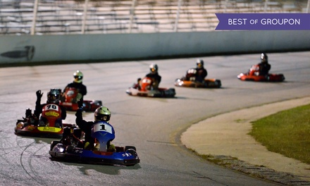 Three Prokart Races for Two, Four, or Six at Central Texas Speedway (Up to 50% Off)