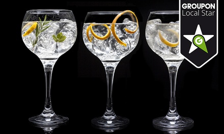 Taller y cata de vodka&tonics para dos o cuatro personas