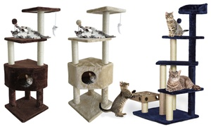 Tiger Tough Kitty Cat Trees for Lounging and Play