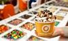 Orange Leaf - Orange Leaf - The Woodlands : Frozen Yogurt at Orange Leaf Frozen Yogurt (50% Off). Two Options Available.