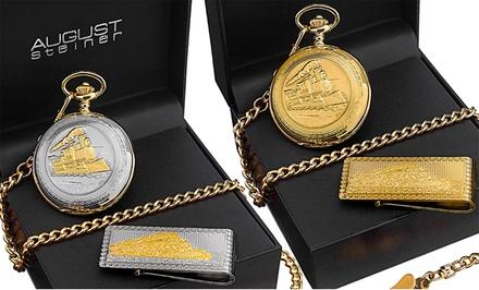 August Steiner Men's Pocket Watch