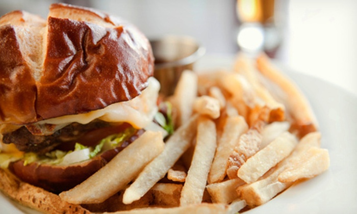 The Burger Philosophy - Chicago: Burgers, Fries, and Drinks at The Burger Philosophy (Half Off). Two Options Available.