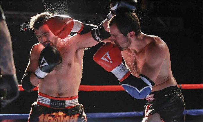 Bounded Fist Muay-Thai - Arizona Event Center: Bounded Fist Muay Thai Event for Two at Arizona Event Center on October 25 or December 19 (Up to 60% Off)