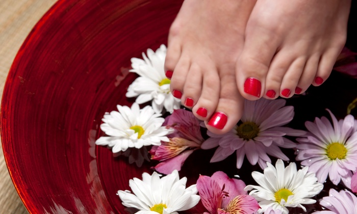 Andrea Bosko at Always Stylin' - East Greenbush: Luxury Pedicure with Optional Shellac Manicure from Andrea Bosko at Always Stylin' (50% Off)