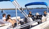 White Ibis Tours - Cat's Paw Marina: Ancient City Pontoon Boat Sunset Tour for Two or Up to Six from White Ibis Tours (50% Off)