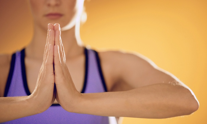 Divine Power Yoga - Naperville: $39 for One Month of Unlimited Hot Yoga Classes at Divine Power Yoga (Up to $135 Value)