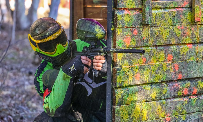 Xtreme Paintball - Agawam: All-Day Paintball Outing with Paintballs & Equipment Rental for 2, 4, or 6 at Xtreme Paintball (Up to 59% Off)