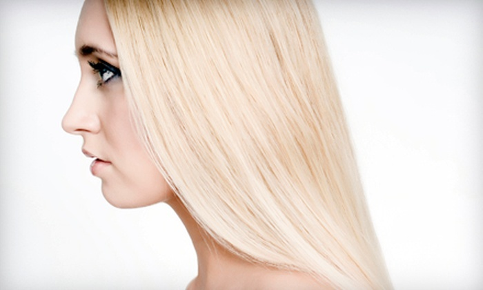 Krista Bradford Salon - McHenry: Haircut with Partial or Full Highlights or Keratin Smoothing Treatment at Krista Bradford Salon (Up to 75% Off)