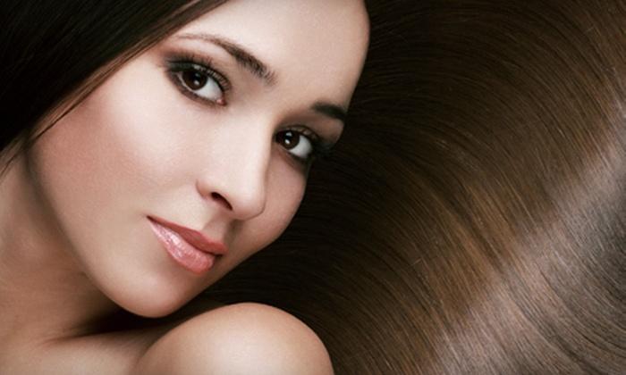 Napoleon Blonde - Santa Barbara: Haircut Package or Minimal, Partial, or Full Highlights at Napoleon Blonde (Up to 53% Off)