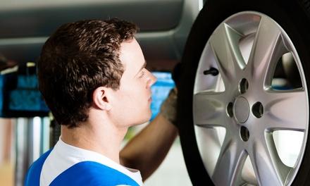 Check up auto con cambio gomme
