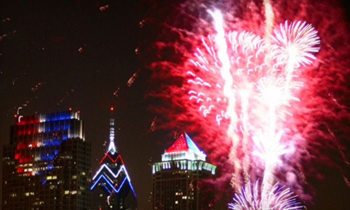 On Cruises - Philadelphia: $119 for Family Fireworks Cruise for Two with Open Bar and Barbecue Tailgate on June 30 from On Cruises ($251.90 Value)