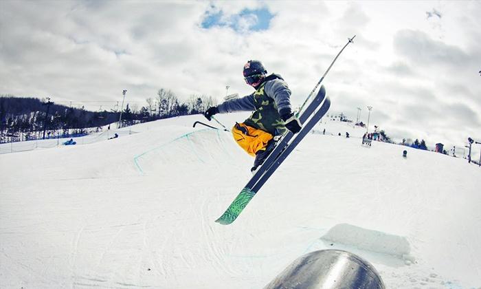 Skiing In Michigan Map.Cannonsburg Ski Area Belmont Mi Groupon