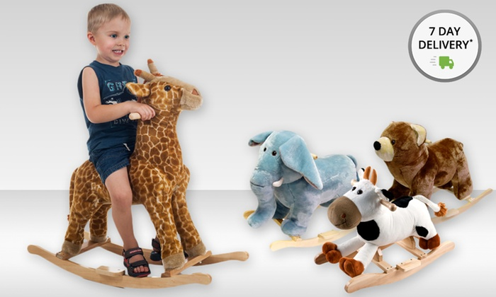 Happy Trails Plush Rocking Animals: Happy Trails Plush Rocking Animals. Multiple Styles Available. Free Shipping and Returns.