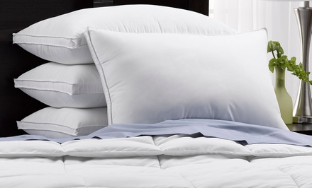 4-Pack of Exquisite Hotel Collection 220-Thread-Count Queen Down Alternative Pillows