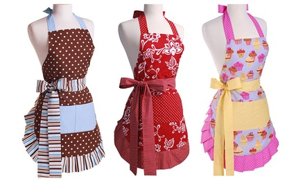 Retro Apron In Choice Of Designs Groupon Goods