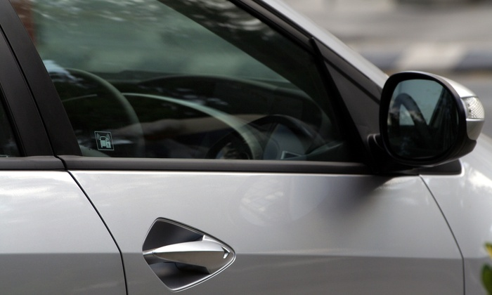 Superior Auto Glass & Tinting - Spring Valley: Window Tinting for Two, Five, or Seven Windows and Glare Strip at Superior Auto Glass & Tinting (Up to 61% Off)