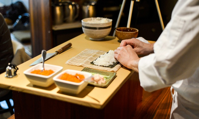 Sound Excursions - Chiso: Sushi-Making and Sake-Tasting for One or Two from Sound Excursions (Up to 30% Off)