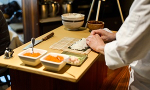 Sound Excursions: Sushi-Making and Sake-Tasting for One or Two from Sound Excursions (Up to 30% Off)