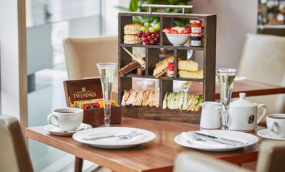 image for Afternoon Tea for Two or Four with Optional Prosecco at Hilton Garden Inn Bristol City Centre (Up to 33% Off)
