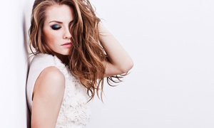 Hair Studio Janusz: Haircut with Either Deep-Conditioning or Partial Highlights at Hair Studio Janusz (Up to 63% Off)