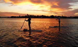 New Smyrna Stand Up: Daytime Standup-Paddleboard Tour or Sunset Tour with Picnic for 2 or 4 from New Smyrna Stand Up (Up to 45% Off)