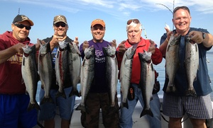 Puget Sound Sports Fishing: Four-Hour Fishing Trip for One, Two, Four, or Six from Puget Sound Sports Fishing (48% Off)