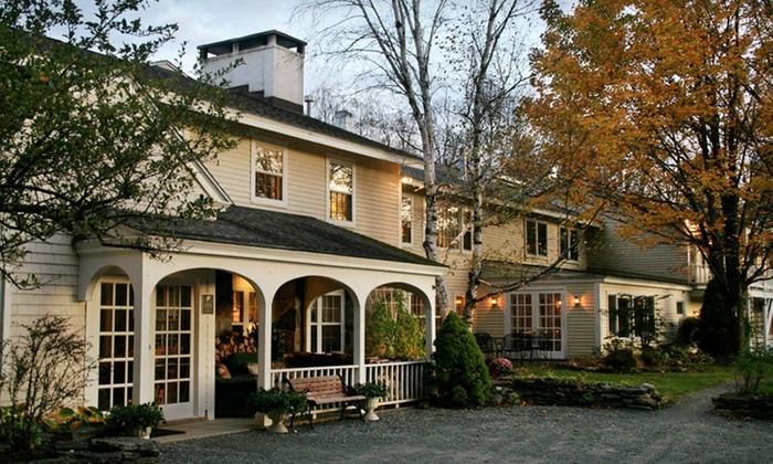 Deerhill Inn - Dover: Two-Night Stay with Daily Breakfast for Two and One Dinner Entree at Deerhill Inn in West Dover, VT