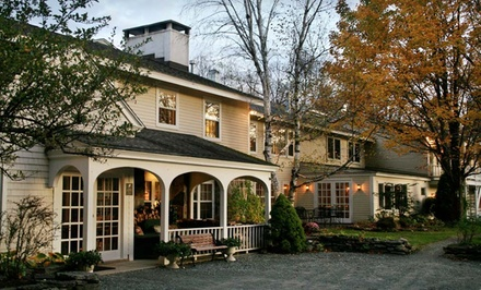 Springfield, MA: Two-Night Stay with Daily Breakfast for Two and One Dinner Entree at Deerhill Inn in West Dover, VT